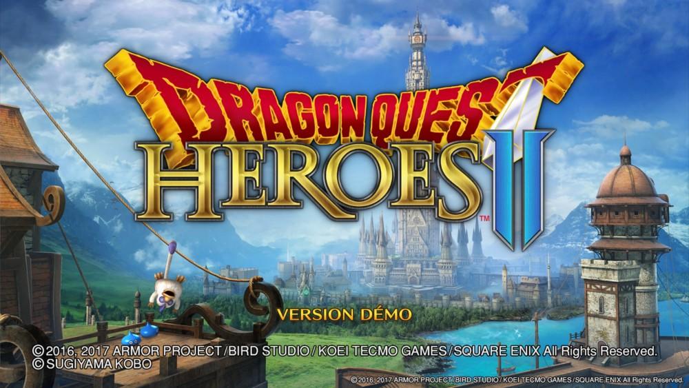 Dragon Quest Heroes II Démo