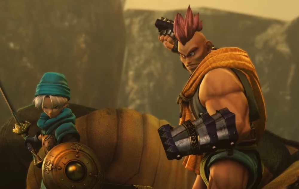 Dragon Quest Heroes II Olivier et Tommy
