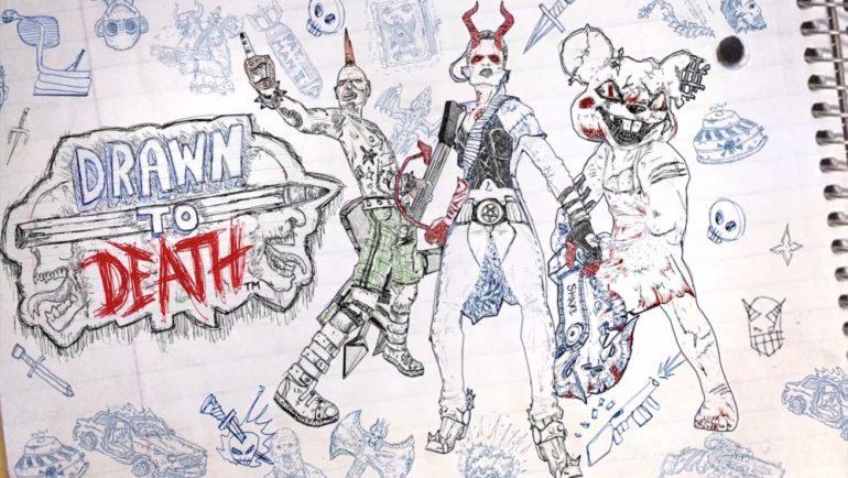 Drawn to Death logo