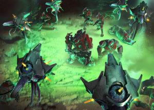 Halo Wars 2 Engine Swarm