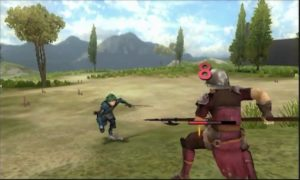 Fire Emblem Echoes: Shadows of Valentia duel