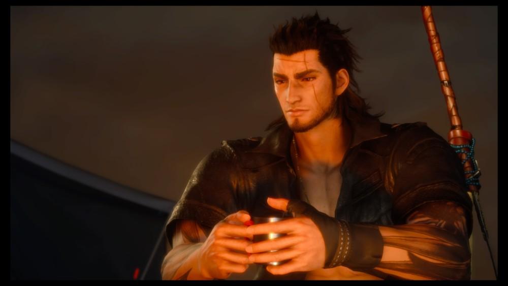Final Fantasy XV : Épisode Gladiolus - Gladiolus auprès du feu