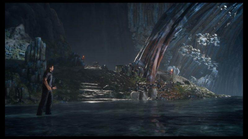 Final Fantasy XV : Épisode Gladiolus Gladiolus à l'approche d'un épreuve