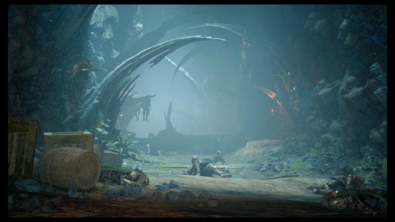 Final Fantasy XV : Épisode Gladiolus - Entrée du donjon