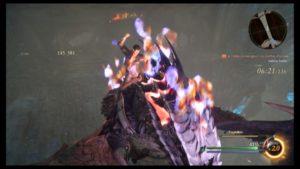 Gladiolus à dos de dragon dans Final Fantasy XV : Épisode Gladiolus