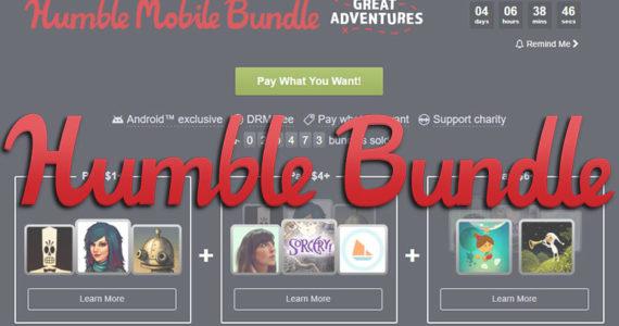 Humble Bundle Great Adventures Titre
