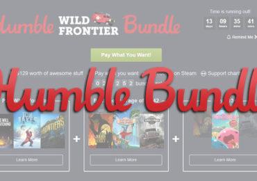 Humble Bundle Wild Frontier Titre