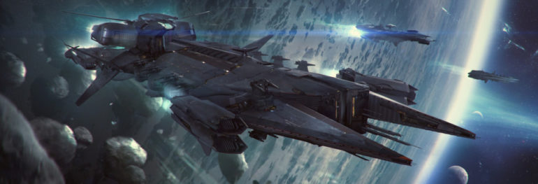 Star Citizen Javelin