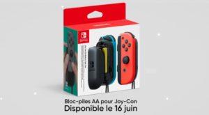 Nintendo Direct Nintendo Switch Joy-Con Bloc Piles