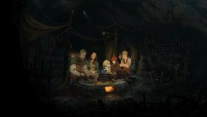 Les Piliers de la Terre Tom le Bâtisseur et sa famille