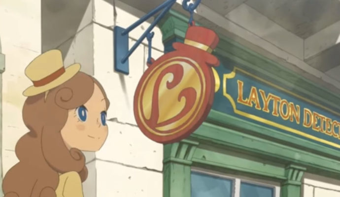 Layton's Mystery Journey, Katrielle devant son bureau.