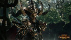 Total War : Warhammer II Chef elfes noir