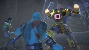 Marvel's Guardians of the Galaxy: The Telltale Series Combat contre Thanos