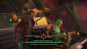 Marvel's Guardians of the Galaxy: The Telltale Series Drax et StarLord