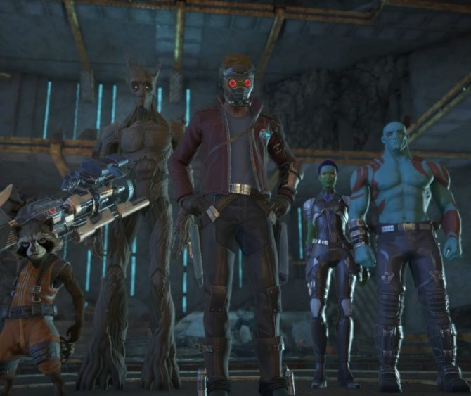 Marvel's Guardians of the Galaxy: The Telltale Series Team