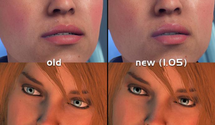 Mass Effect: Andromeda comparaison avec le patch correctif 1.0.5