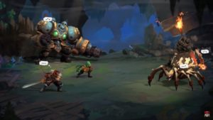 ND Battle Chasers sur Nintendo Switch