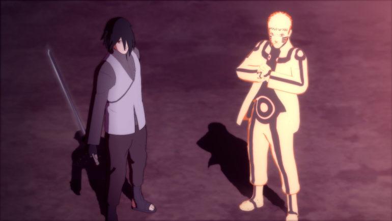 Naruto Shippuden: Ultimate Ninja Storm Legacy - Naruto et Sasuke