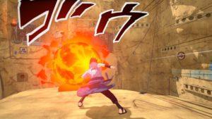 Naruto to Boruto Sauske Fireball