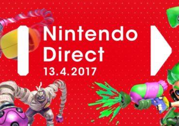 Un Nintendo Direct a eu lieu le 13 avril 2017, on y parle notamment de la Nintendo Switch