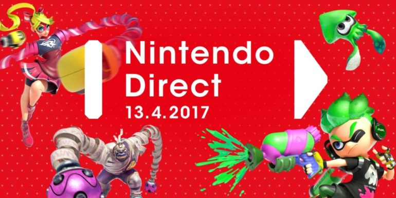 Un Nintendo Direct a eu lieu le 13 avril 2017, on y parle notamment de la Nintendo Switch