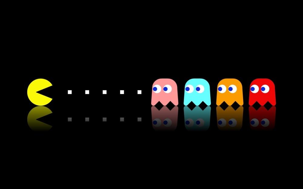 Pac-man vs des fantômes