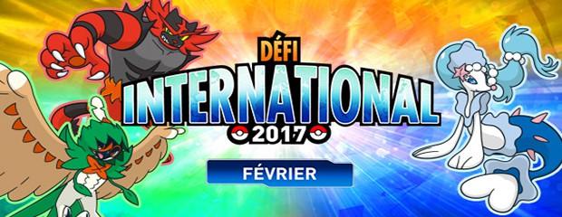 Pokémon défi international de février