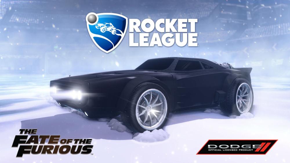 Rocket League Dodge Ice Charger