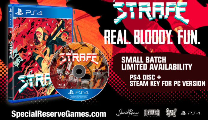 Strafe édition collector PS4