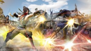 SAMURAI WARRIORS: Spirit of Sanada Sasuke combat