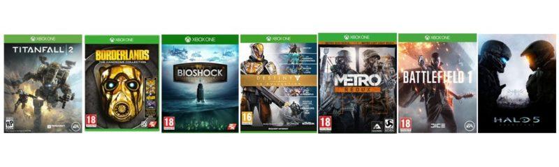 Soldes de Printemps Microsoft jeux catégorie tir