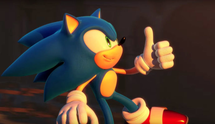 Sonic Forces thumb up