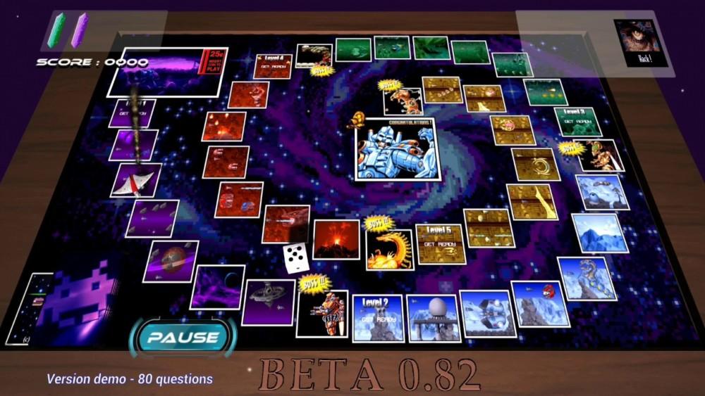 Space Race jeu de plateau
