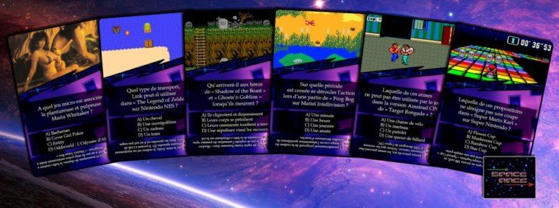 Space Race cartes