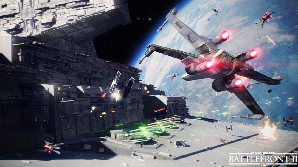 Star Wars Battlefront II - Bataille Spatiale