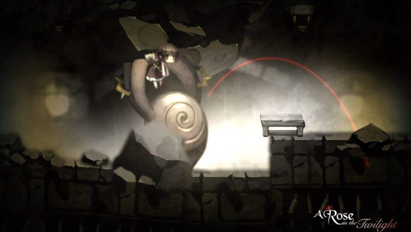 A Rose in the Twilight - Rose se faisant aider par le colosse