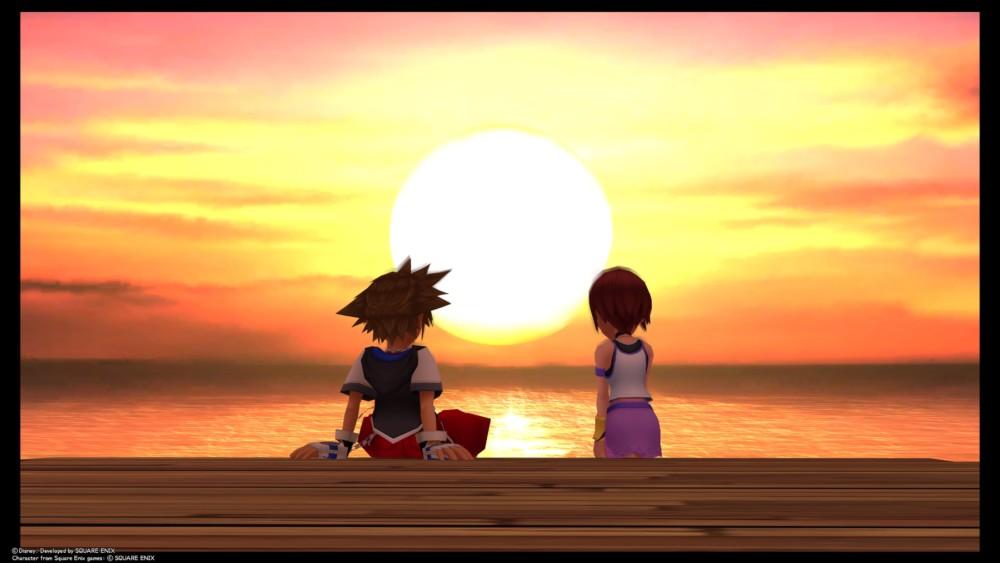 Kingdom Hearts HD 1.5 + 2.5 ReMIX - Sora et Kairi