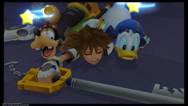 Kingdom Hearts HD 1.5 + 2.5 ReMIX - Dingo, Sora, Donald