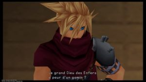 Kingdom Hearts HD 1.5 + 2.5 ReMIX - Un mix entre Cloud et Vincent