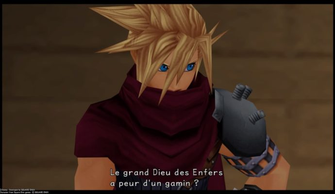 Kingdom Hearts HD 1.5 + 2.5 ReMIX - Un mix entre Cloud et Vincent