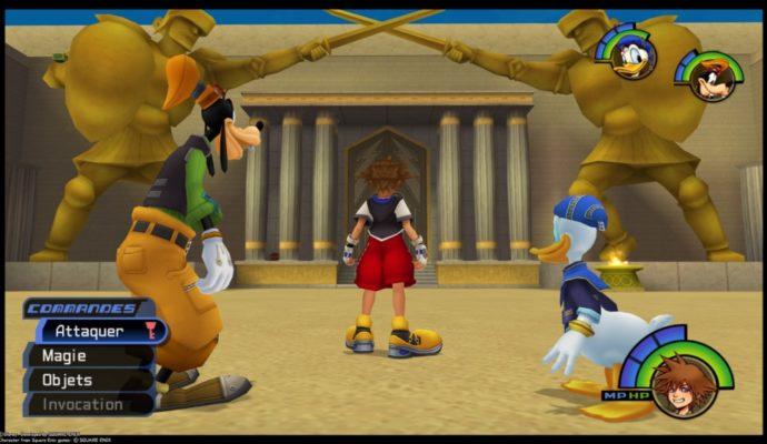 Kingdom Hearts HD 1.5 + 2.5 ReMIX - Le Colisée de l'Olympe