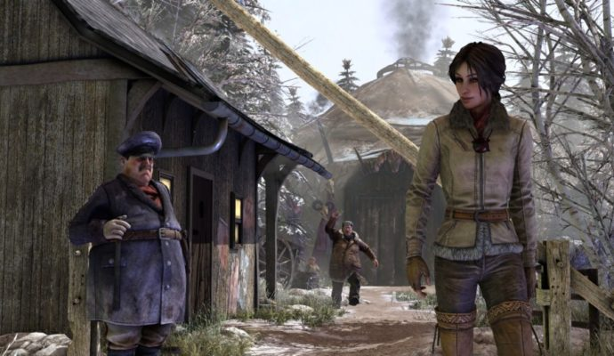 Syberia 3 Kate au camp Youkol