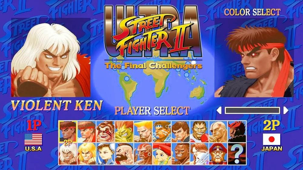 Ultra Street Fighter II Violent Ken Evil Ryu