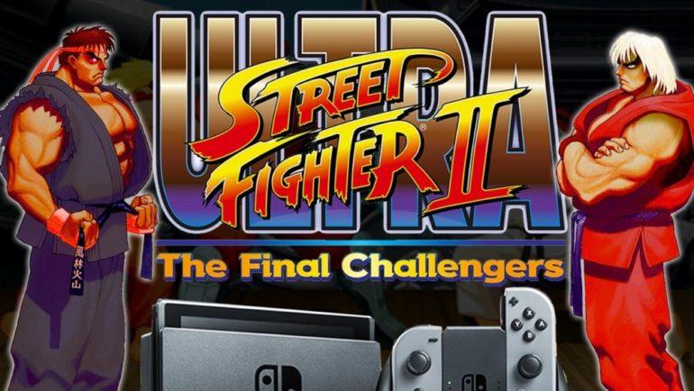 Ultra Street Fighter II logo