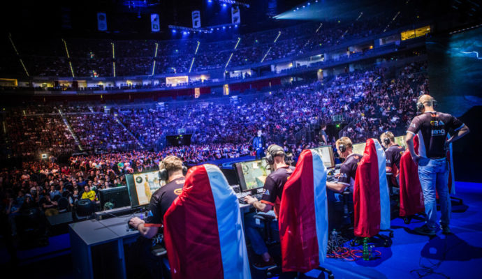 eSport compétition CS:GO équipe de France