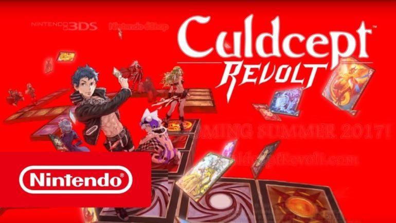 Culdcept Revolt - titre