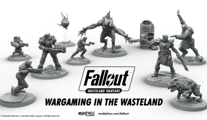 Fallout : Wasteland Warfare - figurines