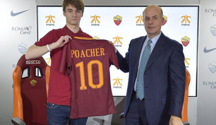 eSport partenariat AS Roma Fnatic