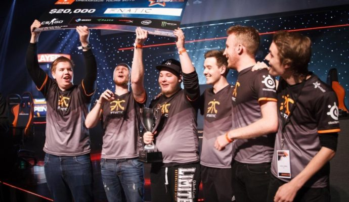 eSport Fnatic victoire dans Counter Strike:Global Offensive