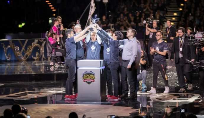 League of Legends Championship Series Europe victoire